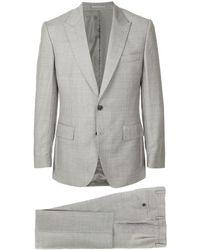 Gieves & Hawkes Formal Slim Suit - Brown