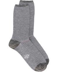 Eleventy - Glitter Embellished Socks - Lyst