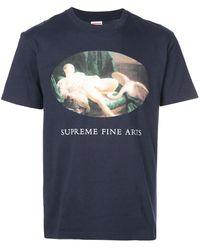 Supreme Leda And The Swan T-shirt - Blue
