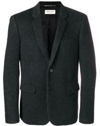 Saint Laurent - Striped Jacket - Lyst
