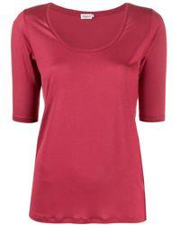 Filippa K スクープネック Tシャツ - ピンク
