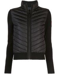 Canada Goose Куртка С Дутыми Вставками Спереди - Черный