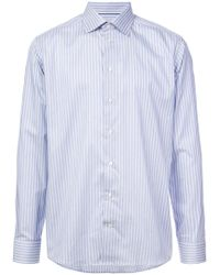 Eton of Sweden - Classic Striped Shirt - Lyst