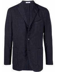 Boglioli シングルジャケット - ブルー