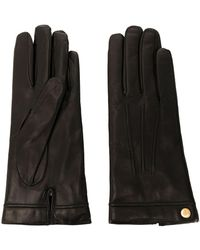 Mulberry Soft Effect Gloves - Black