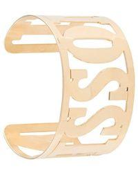 Missoni Armband mit Logo - Mettallic