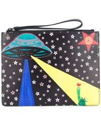 Christopher Kane - Printed Clutch - Lyst