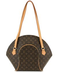 Louis Vuitton Borsa a spalla Ellipse Pre-owned 1997 - Marrone