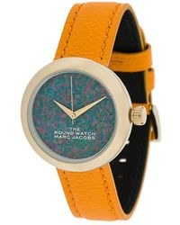 Marc Jacobs Orologio con stampa - Blu