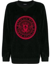 Balmain - Graphic Sweatshirt - Lyst