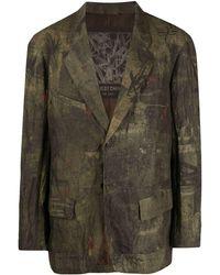 Ziggy Chen グラフィック シングルジャケット - マルチカラー