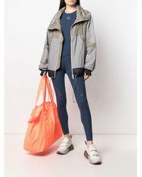 adidas By Stella McCartney カラーブロック トラックジャケット - グレー