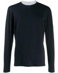 Brunello Cucinelli Jersey T-shirt - Blue