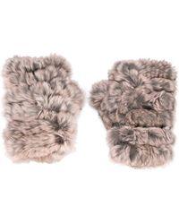 Jocelyn - Fur Gloves - Lyst