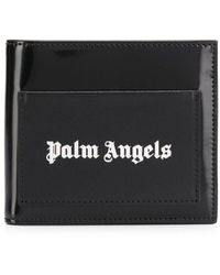 Palm Angels Logo Bi-fold Wallet - Black