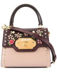 Dolce & Gabbana Мини-сумка Welcome - Многоцветный