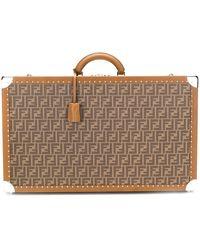 Fendi Koffer mit FF-Muster - Mehrfarbig