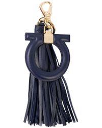 Ferragamo - Gancio Tassel Bag Charm - Lyst