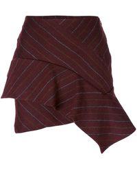 Isabel Marant - Kimura Pinstriped Skirt - Lyst