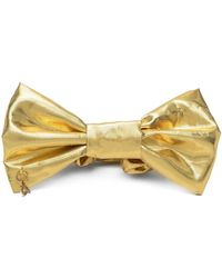 Parlor Ruched Bow Hair Accessory - Yellow