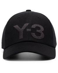 Y-3 Logo キャップ - ブラック