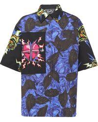 Prada - Camicia con stampa - Lyst