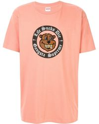 Supreme - Life S*cks Die Tシャツ - Lyst