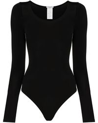 Wolford Buenos Aires Turtleneck Bodysuit - Black