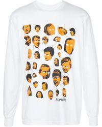 Supreme プリント Tシャツ - ホワイト
