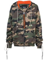 Mostly Heard Rarely Seen - Camouflage Zip-up Hoodie - Lyst