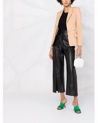 Elisabetta Franchi ホースビット シングルジャケット - ブラック