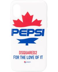DSquared² X Pepsi Iphone X Cover - White