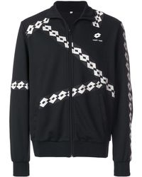 Damir Doma Lotto Zip-up Nylon Track Jacket - Black
