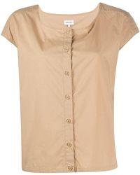 Woolrich ボタン Tシャツ - ナチュラル