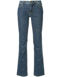 Louis Vuitton Pre-owned Jeans Met Monogram - Blauw