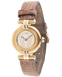 Cartier ラウンド クォーツ 腕時計 - マルチカラー