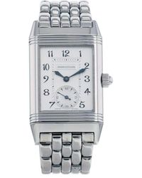 Jaeger-lecoultre 2000 Pre-owned Reverso-duetto 23mm - Metallic