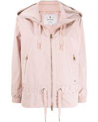 Woolrich フーデッド ジップジャケット - ピンク