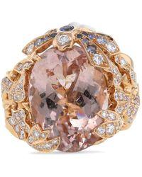 Dior Кольцо Gourmande Из Розового Золота 2010-го Года - Розовый
