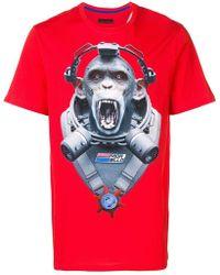 4961c1e07 Gucci Monkey Print T-shirt in Black for Men - Lyst