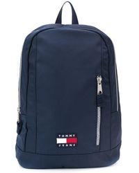 Tommy Hilfiger Rucksack mit Reißverschluss - Blau