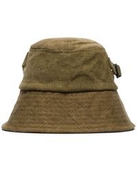 By Walid Green Callum Canvas Bucket Hat