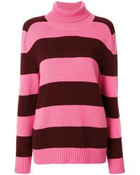 Laneus - Striped Jumper - Lyst