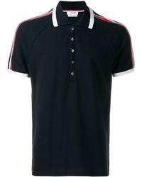Thom Browne Рубашка-поло С Длинными Рукавами И Полосками 4-bar - Многоцветный