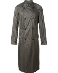 Jil Sander - Long Trench Coat - Lyst