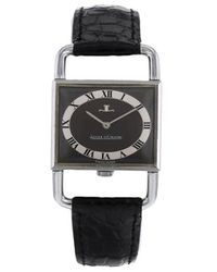 Jaeger-lecoultre 1970 Pre-owned Etrier 23mm - Black