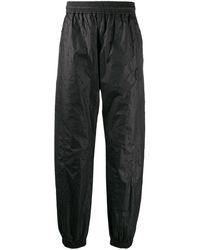 Off-White c/o Virgil Abloh Textured Arrow Track Trousers - Black