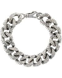 Emanuele Bicocchi Curb Chain Bracelet - Металлик