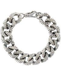 Emanuele Bicocchi - Curb Chain Bracelet - Lyst