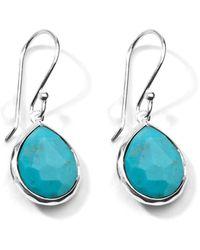 Ippolita - Mini Rock Candy Teardrop Turquoise Earrings - Lyst